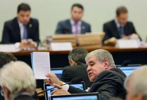 O deputado Carlos Eduardo Marun (PMDB-MS) Foto: Michel Filho / Agência O Globo
