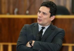 O juiz Sérgio Moro Foto: Geraldo Bubniak / Agência O Globo