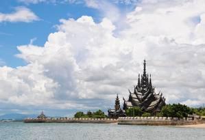 Santuário da Verdade, na Tailândia Foto: Amazing Thailand / Divulgação