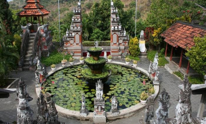 Monastério Brahmavihara-Arama, em Bali Foto: Paula Autran / Arquivo