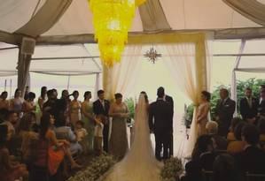 Casamento com despesas pagas com dinheiro desviado da Lei Rouanet segundo o MPF Foto: Reprodução