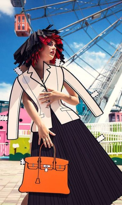 """O """"new look"""" de Christian Dior, criado em 1947 Ajax Lee/Divulgação"""