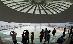 O Museu do Amanhã: funcionamento ininterrupto e transmissões de provas com tecnologia de ponta Foto: Guito Moreto/7-7-2015 / Agência O Globo