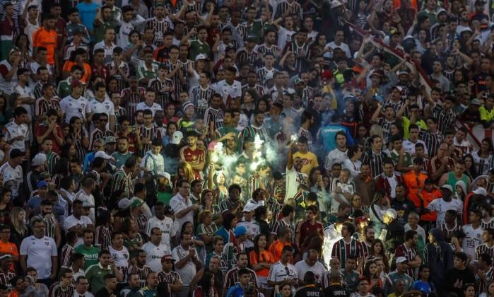 Fluminense e Cruzeiro se enfrentam no Rio de Janeiro