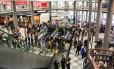 Aeroporto de Congonhas foi o mais prejudicado nesta segunda-feira