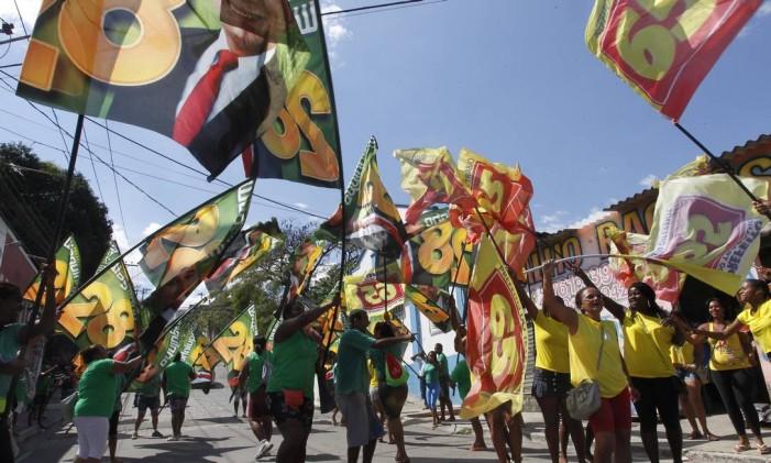 Eleições na Baixada Fluminense 18/10/2012 Foto: Roberto Moreyra / Extra/ Agência O Globo