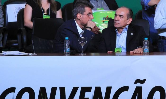 Convenção Nacional do PMDB 12-03-2016 Foto: Ailton de Freitas / Agência O Globo