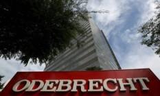 Logomarca da Odebrecht Foto: Reuters /