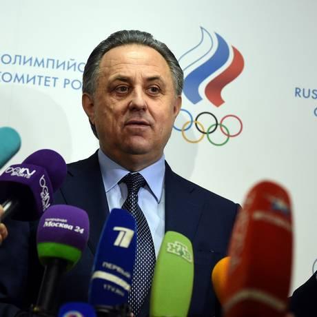 Mutko suspendeu quatro dirigentes acusados de participar do esquema de doping na Rússia Foto: VASILY MAXIMOV / AFP