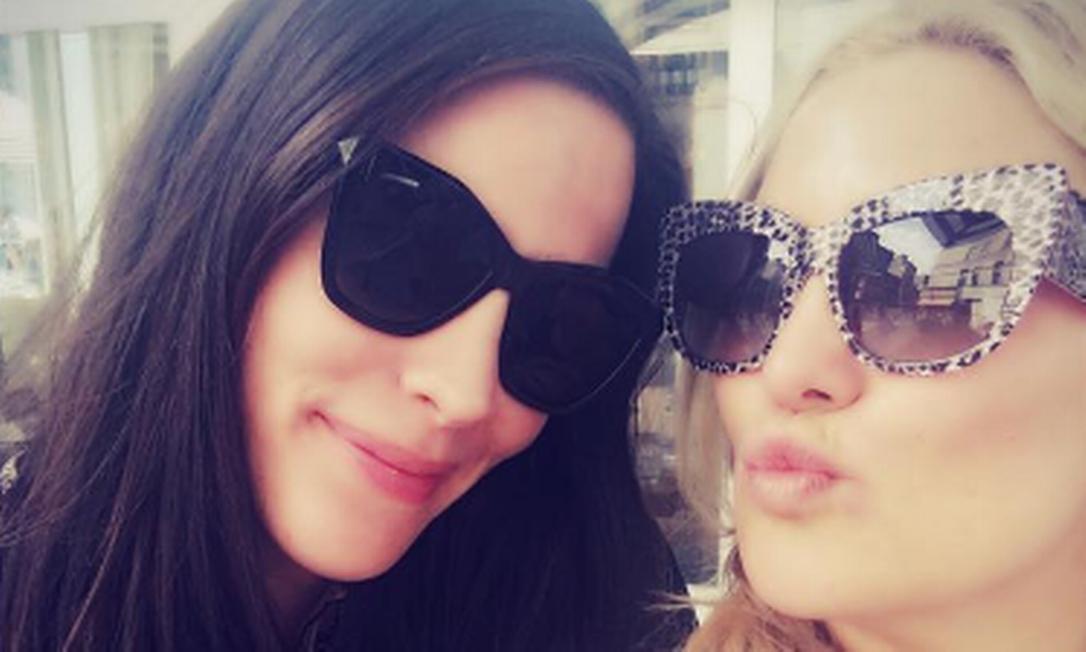 Outra dupla inseparável: Kate Hudson e Liv Tyler Instagram