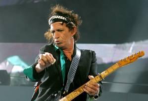 Keith Richards se apresentando em uma turnê no Japão Foto: Kimimasa Mayama / Reuters