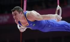 Em Londres-2012, Arthur Zanetti conquistou o ouro nas argolas Foto: Julie Jacobson