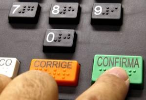 Urna eletrônica Foto: Divulgação