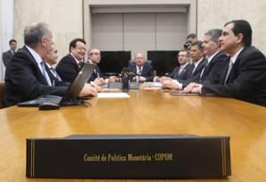 Reunião do Copom no Banco Central Foto: ANDRE COELHO / Agência O Globo