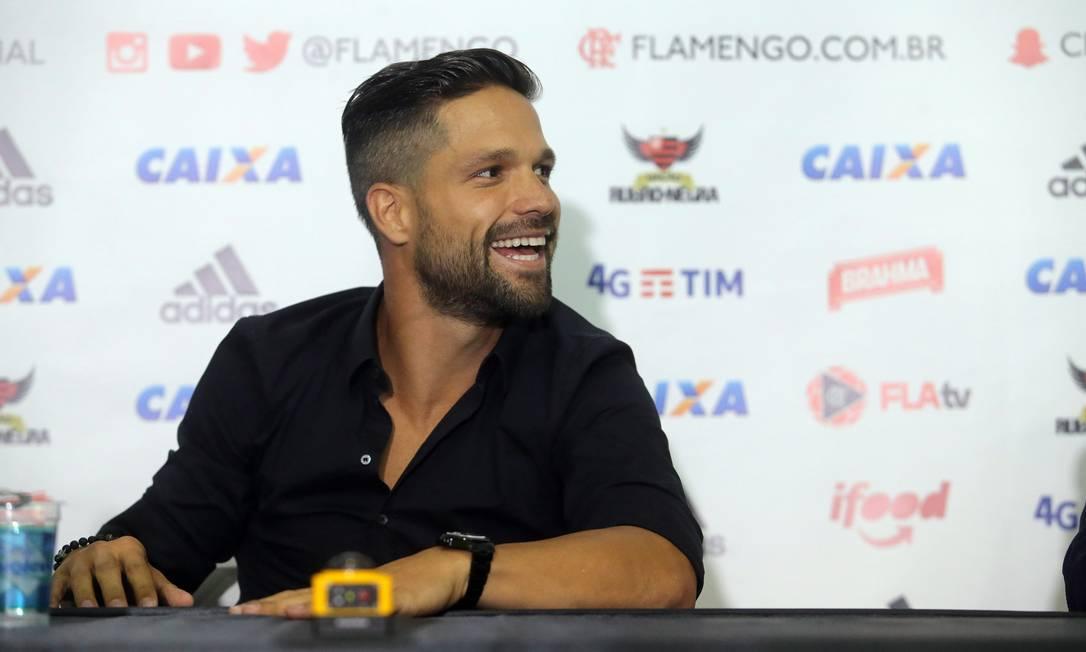 Diego trocou o futebol turco pelo Flamengo Rafael Moraes