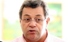 O presidente estadual do PT de São Paulo, Emídio de Souza Foto: Eliária Andrade / Agência O Globo / 2-12-2013
