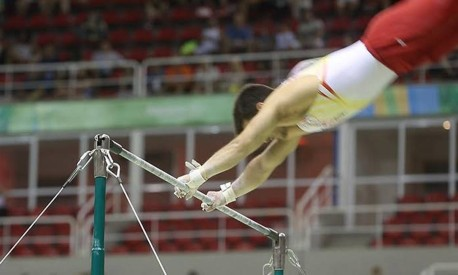 Ginástica olímpica Foto: Guito Moreto