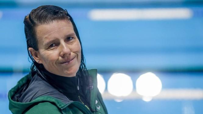 Susana Schnarndorf no Centro Paralímpico Brasileiro, em São Paulo Foto: Pedro Kirilos / Agência O Globo