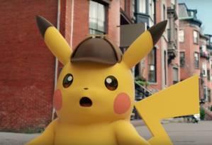O Detetive Pikachu Foto: Reprodução