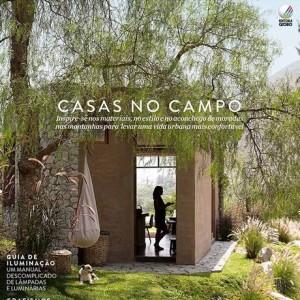 Capa da Revista Casa e Jardim Foto: Reprodução