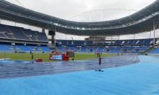 O estádio olímpico Engenhão Foto: Bernardo Mello