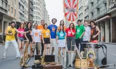 Sinfônica Ambulante se apresenta na Praça da República, no Centro Foto: Divulgação/Lucas Magno