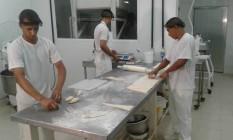 Alunos aprendem a preparar até 120 tipos de pães Foto: Divulgação