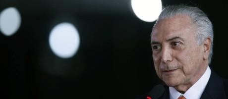 O presidente interino Michel Temer Foto: Jorge William / Agência O Globo 20/07/2016