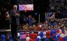 Donald Trump aplaude no fim da Convenção Nacional Republicana em Cleveland, Ohio Foto: MARIO ANZUONI / REUTERS