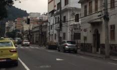 Sinal apagado na Rua Bambina Foto: Leitora / Eu-Repórter