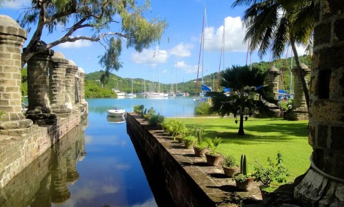 Estaleiro em Antigua e Barbuda Foto: Nicola & Reg Murphy / Divulgação