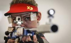 Rosane Budag, atleta brasileira do tiro esportivo Foto: Alexandre Cassiano / Agência O Globo