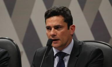 O juiz federal Sérgio Moro Foto: Aílton de Freitas / Agência O Globo / 9-9-2015