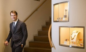 Elegância francesa. Craen, da Hermès: Brasil é destaque na América Latina Foto: Leo Martins / O Globo