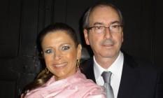 A jornalista Cláudia Cruz e o ex-presidente da Câmara, Eduardo Cunha Foto: Reprodução Facebook
