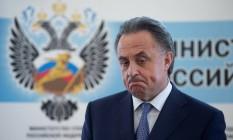 Mutko reconhece que as chances da equipe de atletismo da Rússia de disputar a Olimpíada é de apenas 1% Foto: Alexander Zemlianichenko Jr / AP