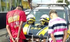 Em operação especial para a Olimpíada, PRF prende 25 pessoas em um único dia no Rio Foto: Divulgação