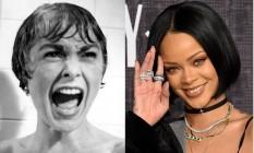 A Marion Crane de Janet Leigh e Rihanna, que fará a personagem em 'Bates Motel' Foto: Reprodução/The Independent