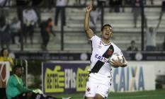 Ederson fez um gol logo na sua estreia pelo Vasco Foto: Paulo Fernandes/Vasco.com.br