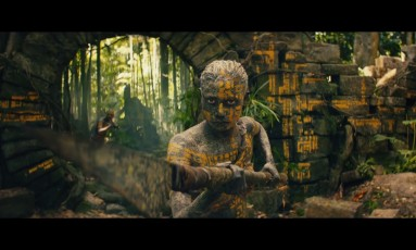 Cena do trailer de 'Kong: A ilha da caveira' Foto: Reprodução