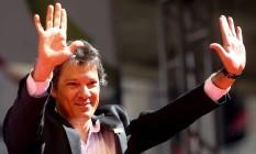 O prefeito de São Paulo, Fernando Haddad Foto: Pedro Kirilos / Agência O Globo