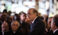 O Ministro de Relações Exteriores, José Serra Foto: André Coelho/Agência O Globo (18/5/2016)
