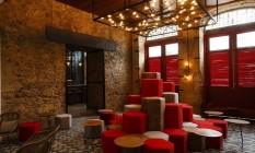 Sofisticação. O interior do Hotel Bragança, que foi revitalizado na Lapa Foto: Fernando Lemos / Fernando Lemos