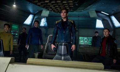 Cena de 'Star Trek: Sem fronteiras' Foto: Divulgação