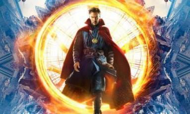 Benedict Cumberbatch em pôster de 'Doutor Estranho' Foto: Divulgação