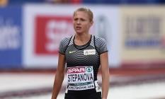 Yulia Stepanova chegou a receber autorização da IAAF, mas foi vetada pelo COI nos Jogos Olímpicos de 2016 Foto: JOHN THYS / AFP
