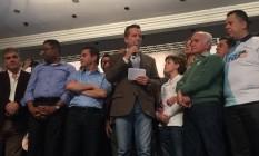 Celso Russomanno em convenção do PRB Foto: Reprodução/Facebook
