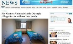 Quartos da Vila Olímpica da Rio-2016 são destaques em versão online de jornal australiano