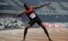 Bolt aparentemente está pronto para os Jogos Olímpicos Foto: Matt Dunham / AP