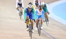 Gideoni Monteiro venceu dois traumas distintos na estrada e ingressou no ciclismo de pista Foto: Saulo Cruz / Exemplus/COB
